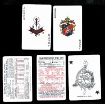Collectible 5 different joker from playing cards #298